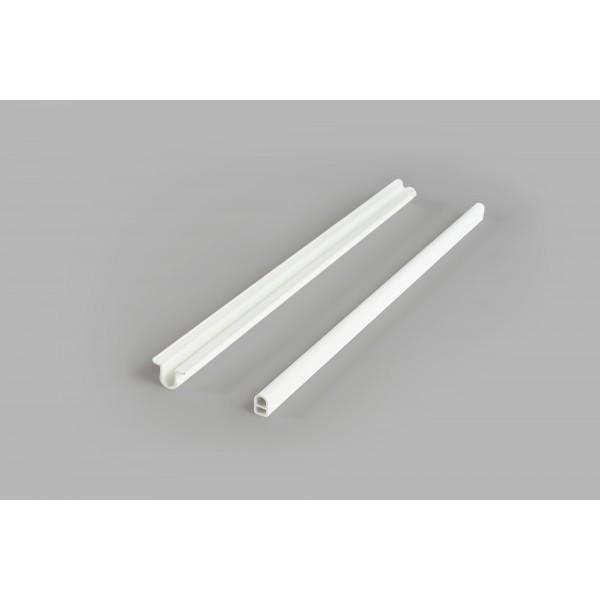 CLIP DOBLE DE PVC (2 MT) 300 PIEZAS