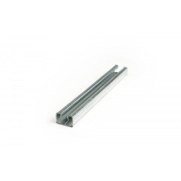 PERFIL C PARA CLIP DOBLE DE PVC 5.8 MTS 100 PIEZAS